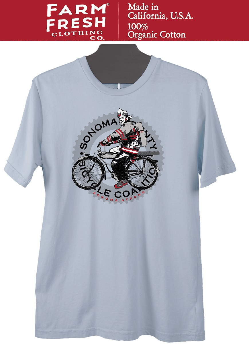 100% of the purchase price from this t-shirt goes to SCBC to help offset our financial losses related to the fires.